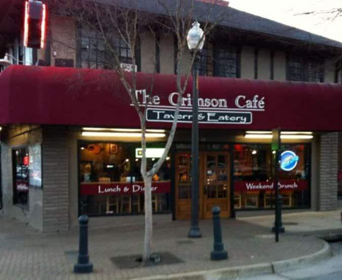 Address of the crimson cafe tavern and eatery tuscaloosa for Food bar tuscaloosa