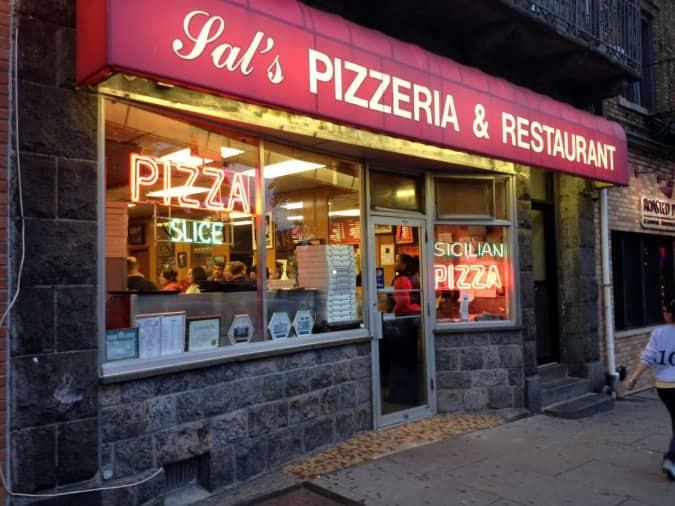 Sal S Pizzeria Menu Menu For Sal S Pizzeria Mamaroneck