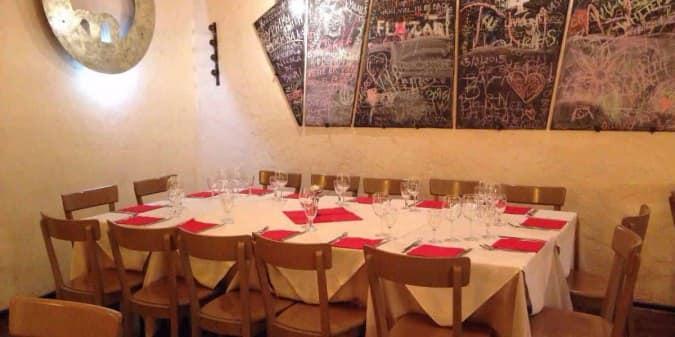 Trattoria moderna a roma foto del menu con prezzi - Trattoria con giardino milano ...