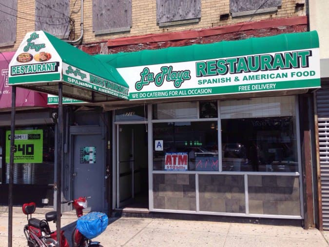 La Playa Restaurant Menu For Rockaway Beach New York City Urbanspoon Zomato