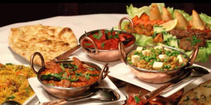 Haute Cuisine Of India A New York City Foto Del Menu Con