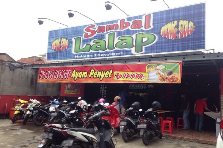 Sambal Lalap, Surapati, Bandung