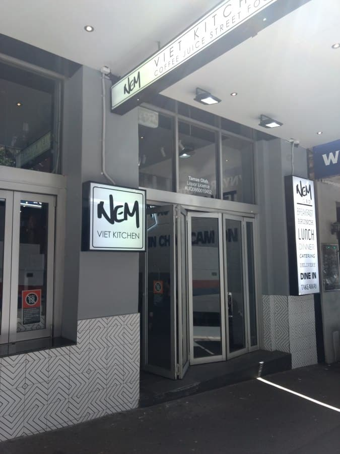 Nem Viet Kitchen, CBD, Sydney