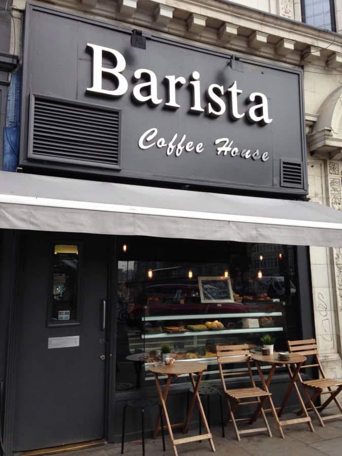 Barista Coffee House Menu, Menu for Barista Coffee House ...