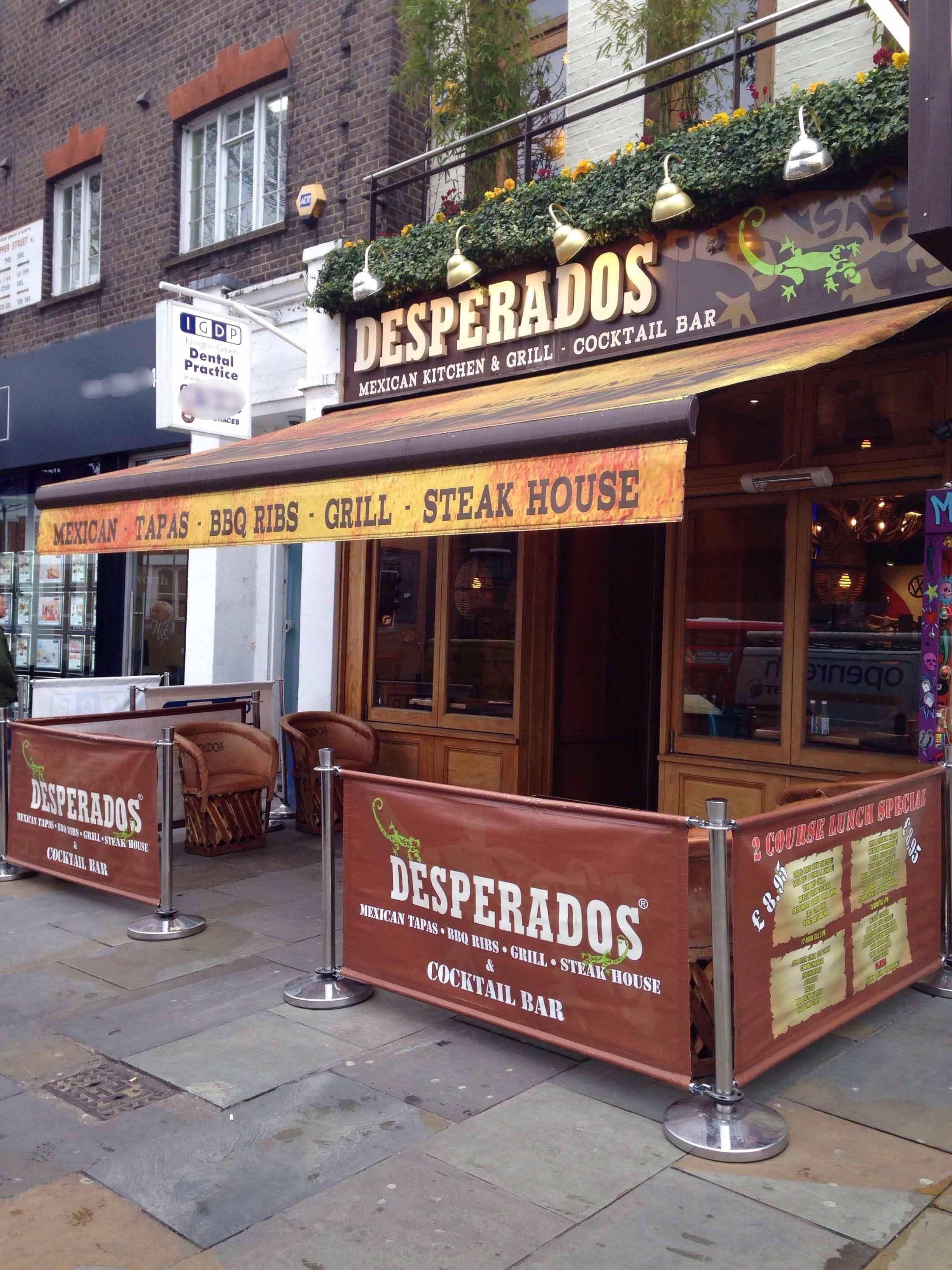 Desperados Upper Street Angel London