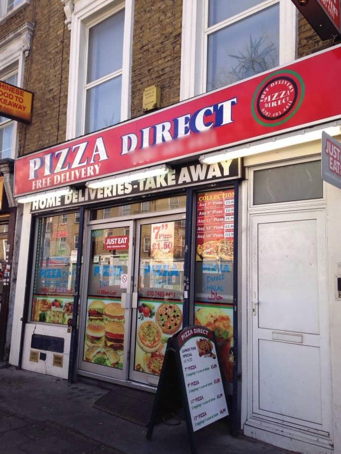 Pizza Direct Holloway London Zomato Uk