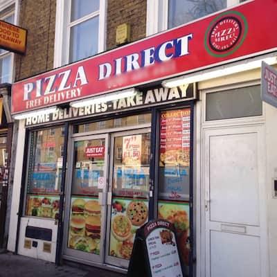 Pizza Direct Menu Menu For Pizza Direct Holloway London
