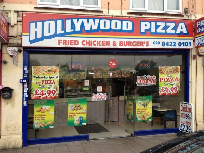 Hollywood Pizza Menu Menu For Hollywood Pizza Harrow