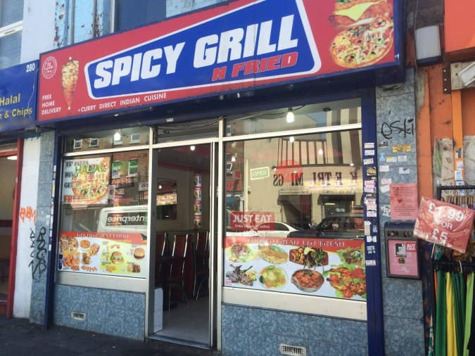 Spicy Grill N Fried Bethnal Green London Zomato Uk