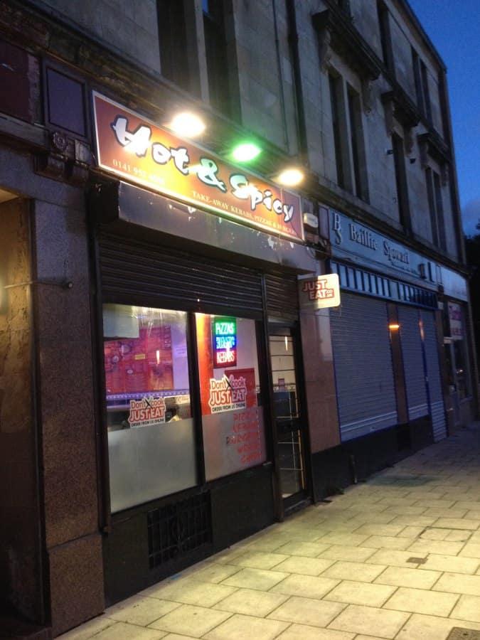 Hot Spicy Alexander Street Clydebank Glasgow Zomato Uk