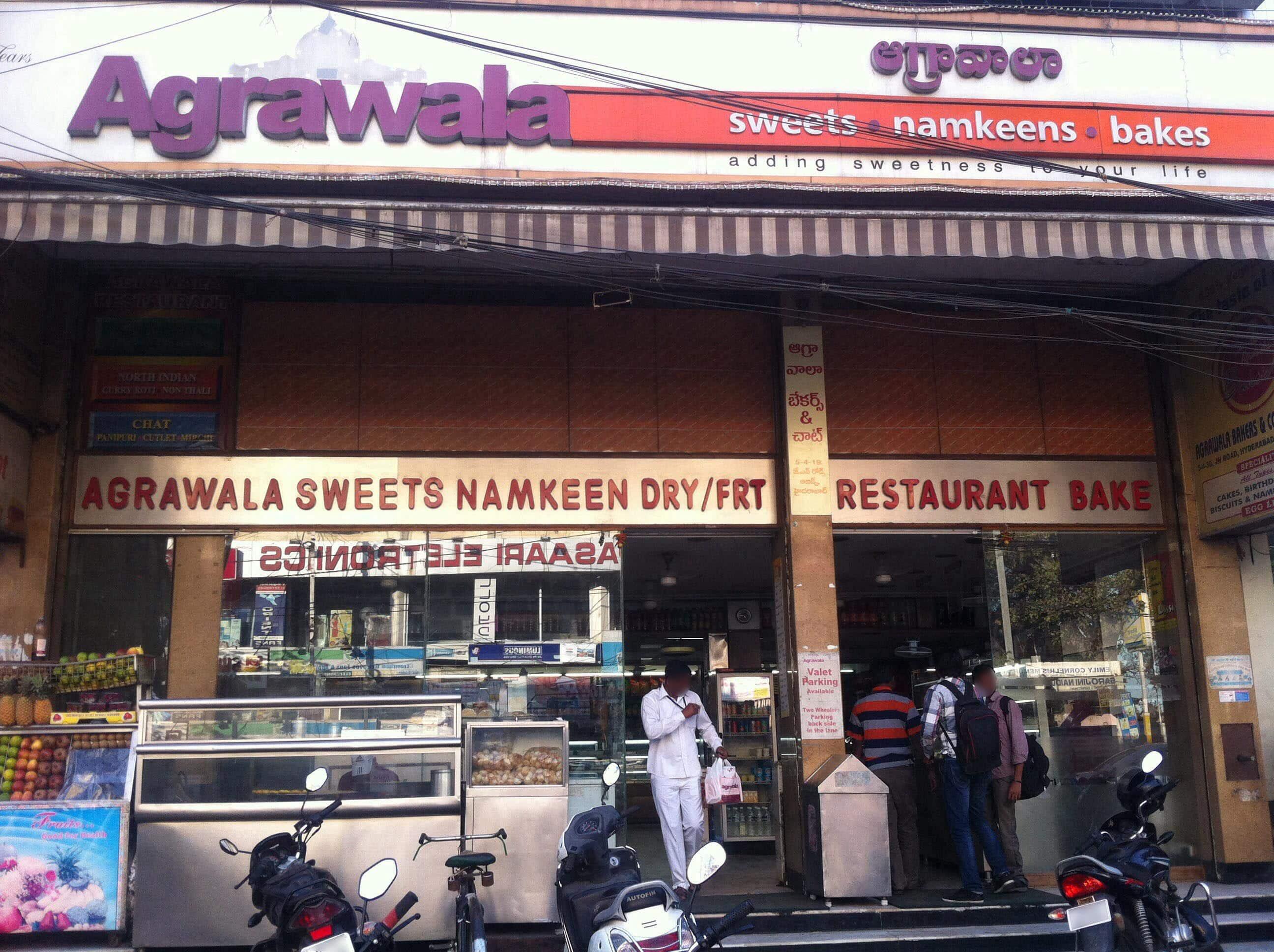 Agrawala agrawala sweets, abids, hyderabad - zomato