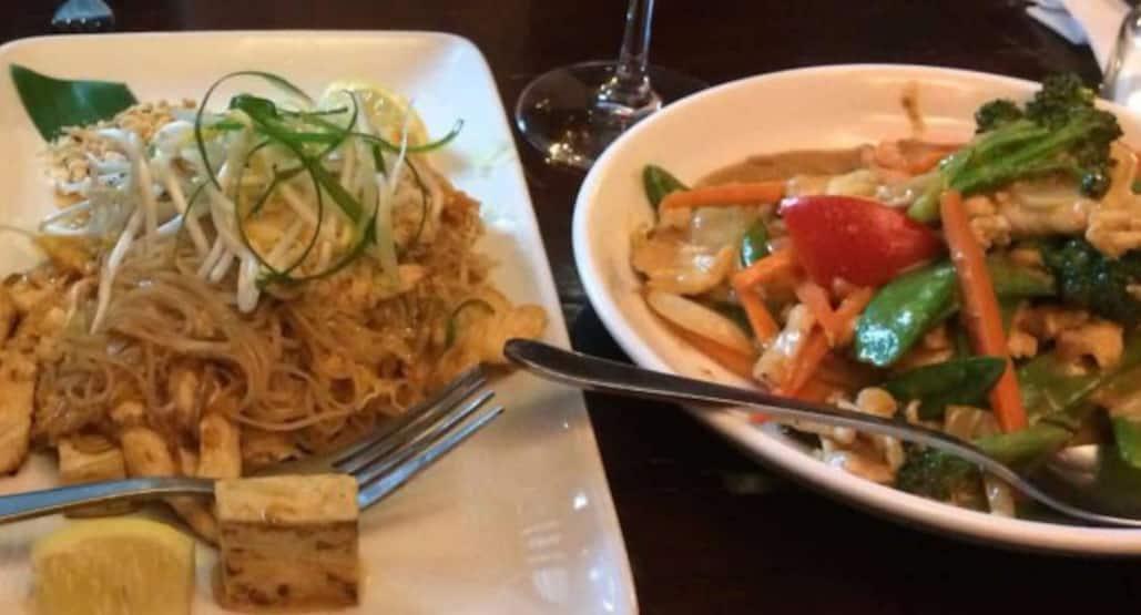 Siam Cuisine Thai Restaurant Menu