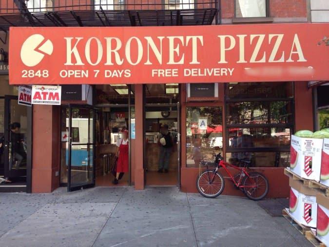 Koronet Pizzeria New York New York City Urbanspoon Zomato