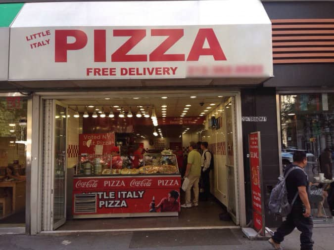 little italy pizza new york new york city urbanspoon zomato. Black Bedroom Furniture Sets. Home Design Ideas