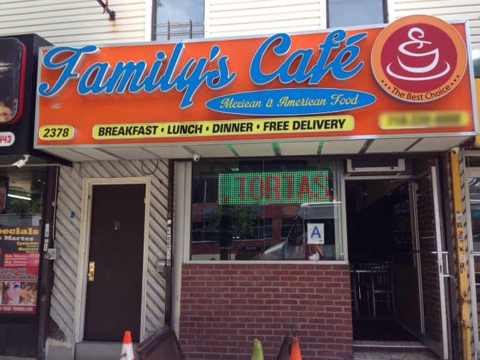Rjc Family S Cafe Menu Menu For Rjc Family S Cafe University Heights New York City
