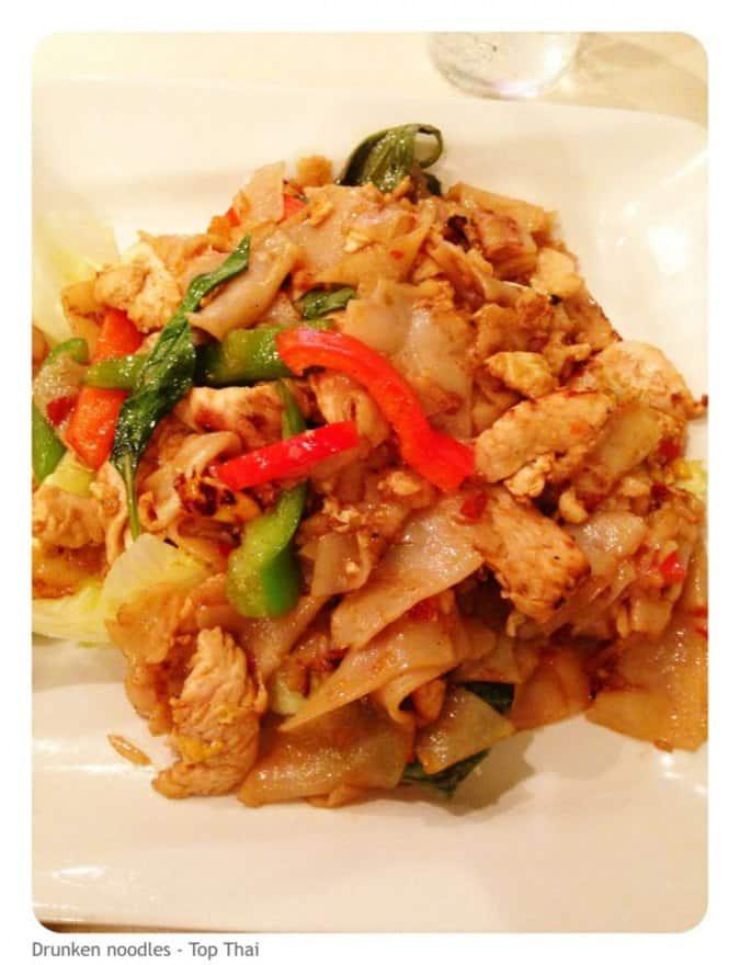 Top thai menu menu for top thai arlington arlington for Arlington thai cuisine