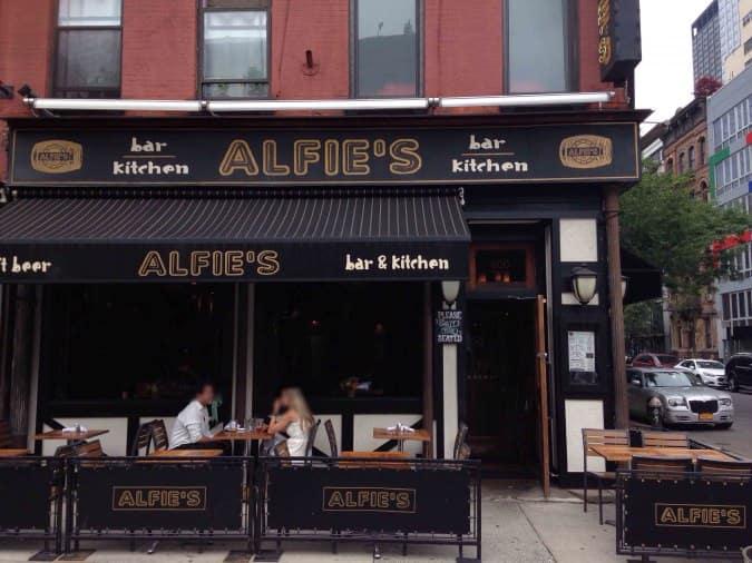 alfie s bar kitchen hell s kitchen new york city