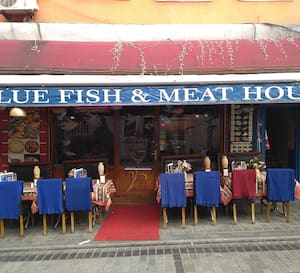 Blue Fish Meat House Sirkeci İstanbul
