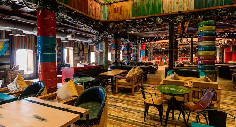 The Junkyard Cafe, Connaught Place, New Delhi   Zomato