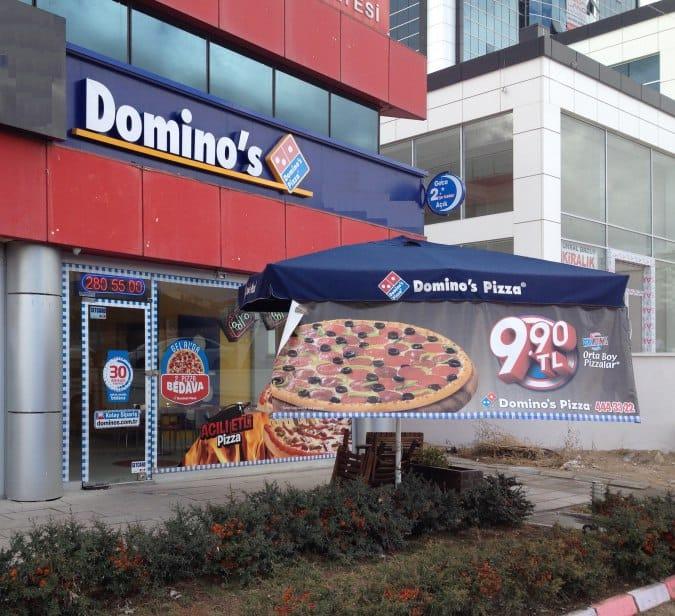 Dominos Pizza Eryaman Ankara Zomato Türkiye