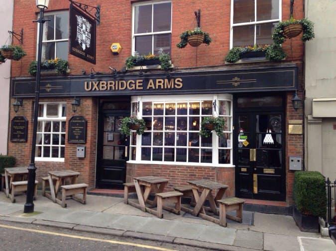 The Uxbridge Arms Uxbridge Street Notting Hill London