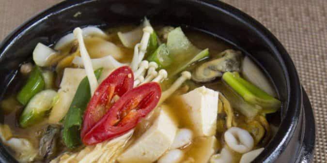 Hana Korean Restaurant London Menu