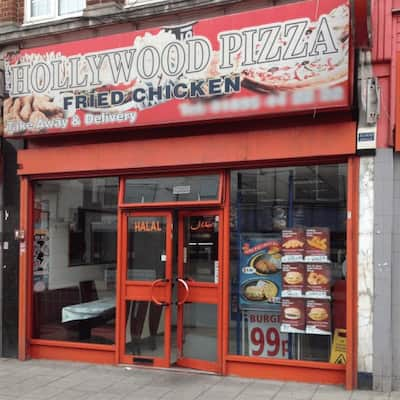 Hollywood Pizza And Chicken Menu Zomato Uk