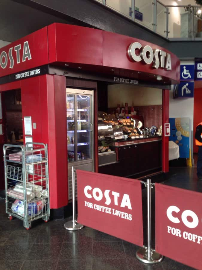 Costa Coffee Piccadilly Manchester Zomato Uk