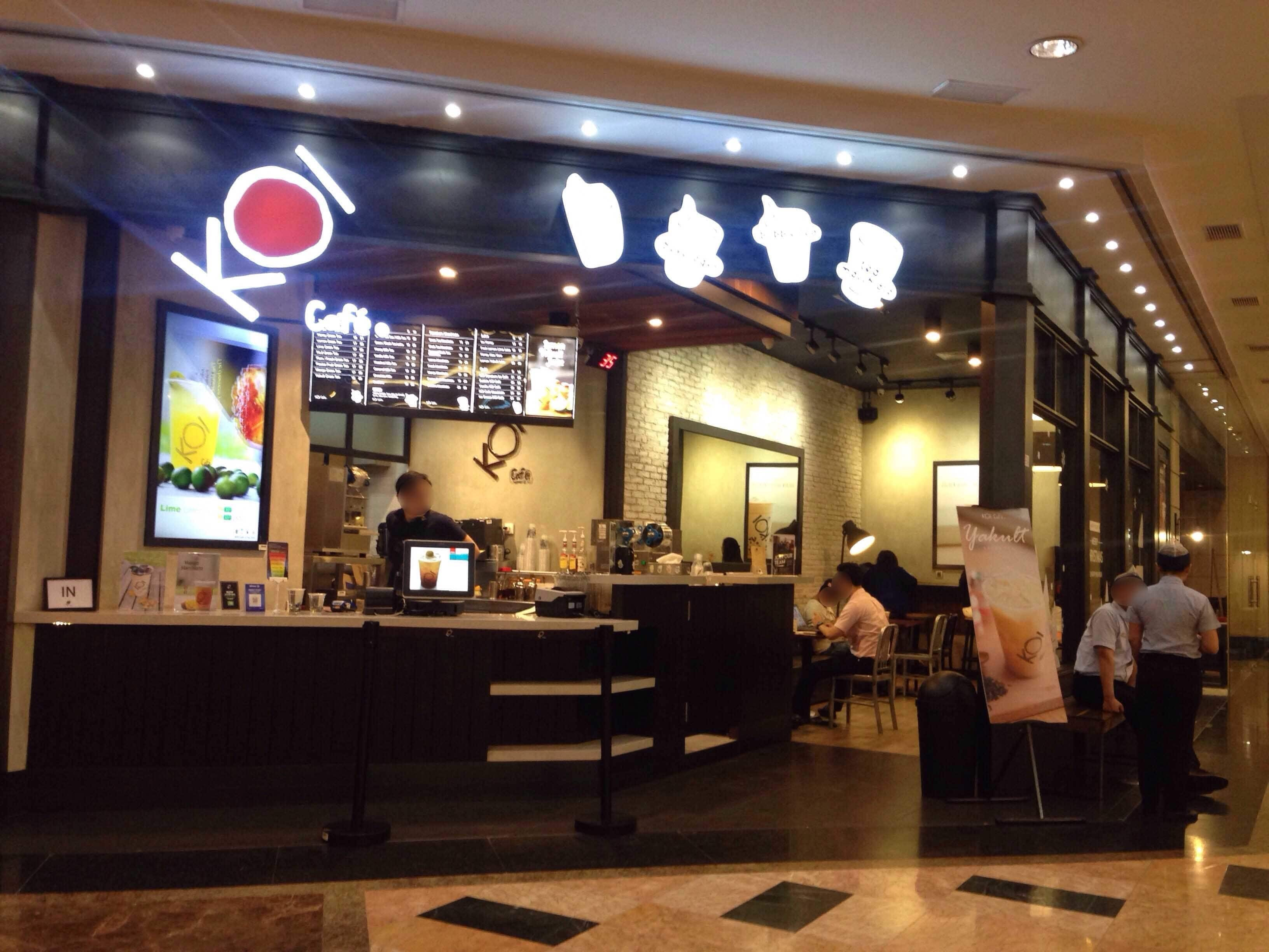 Koi Cafe Taman Anggrek