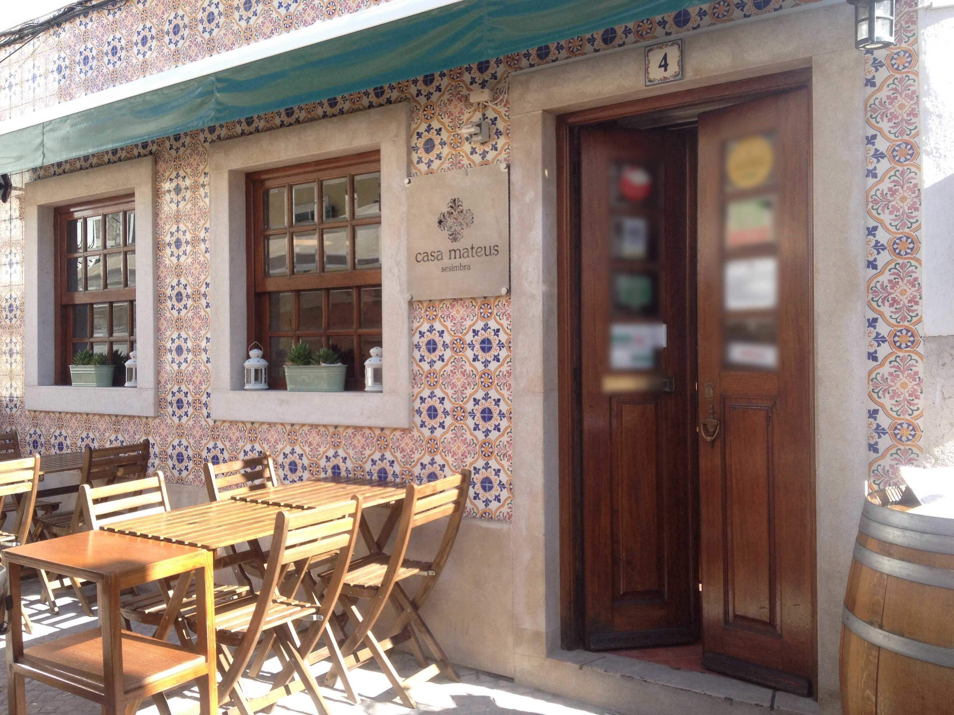 Casa Mateus Sesimbra Centro Greater Lisbon Zomato