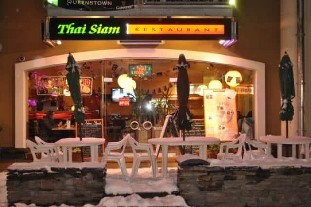 Thai Siam Restaurant Menu Wanaka