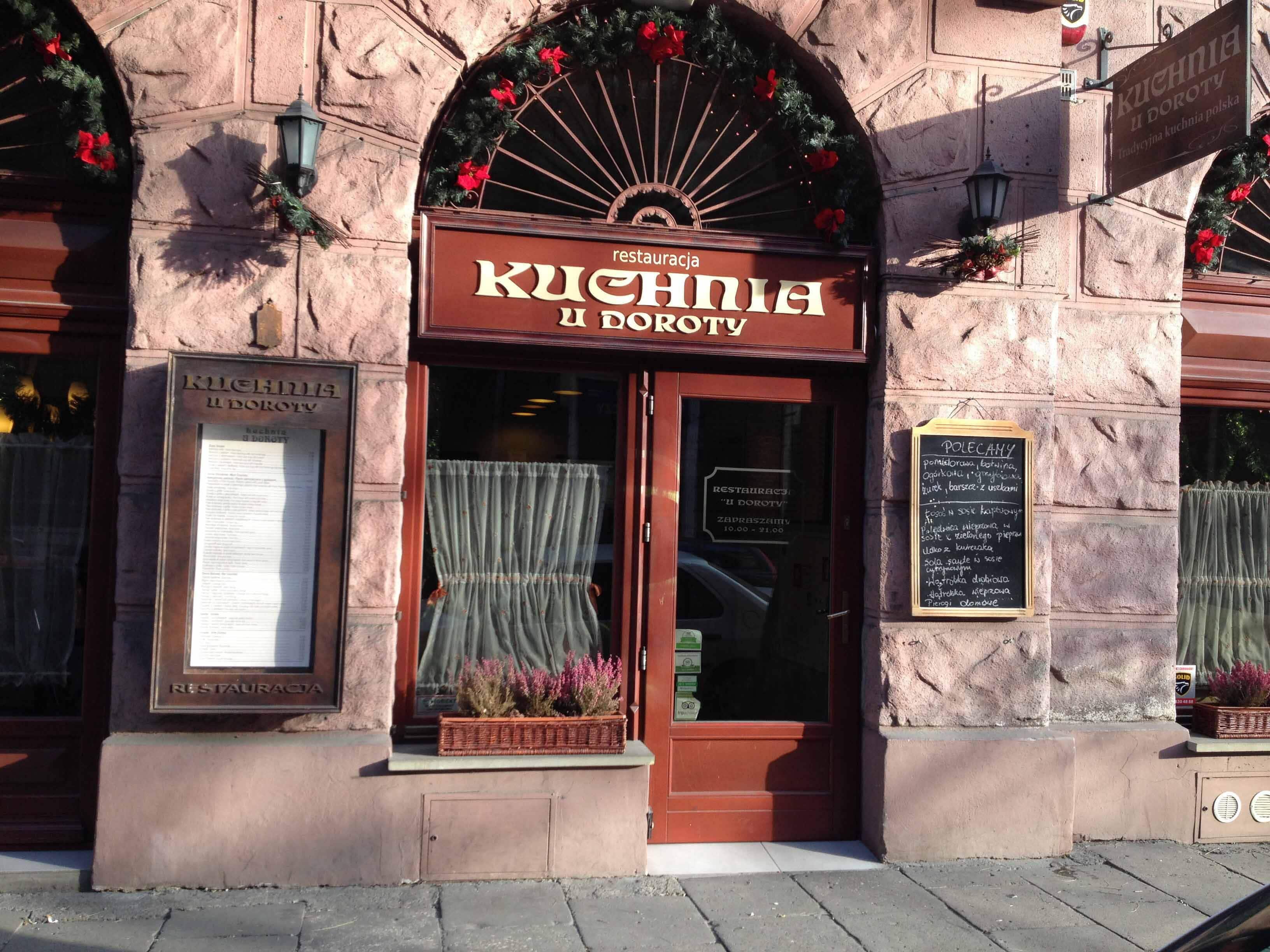 Kuchnia U Doroty Menu Menu Restauracji Kuchnia U Doroty Kazimierz Krakow
