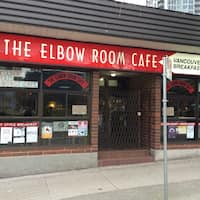 The Elbow Room Vancouver Menu
