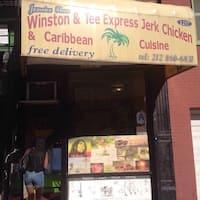 Winston & Tee Express Jerk Chicken Menu - Urbanspoon/Zomato