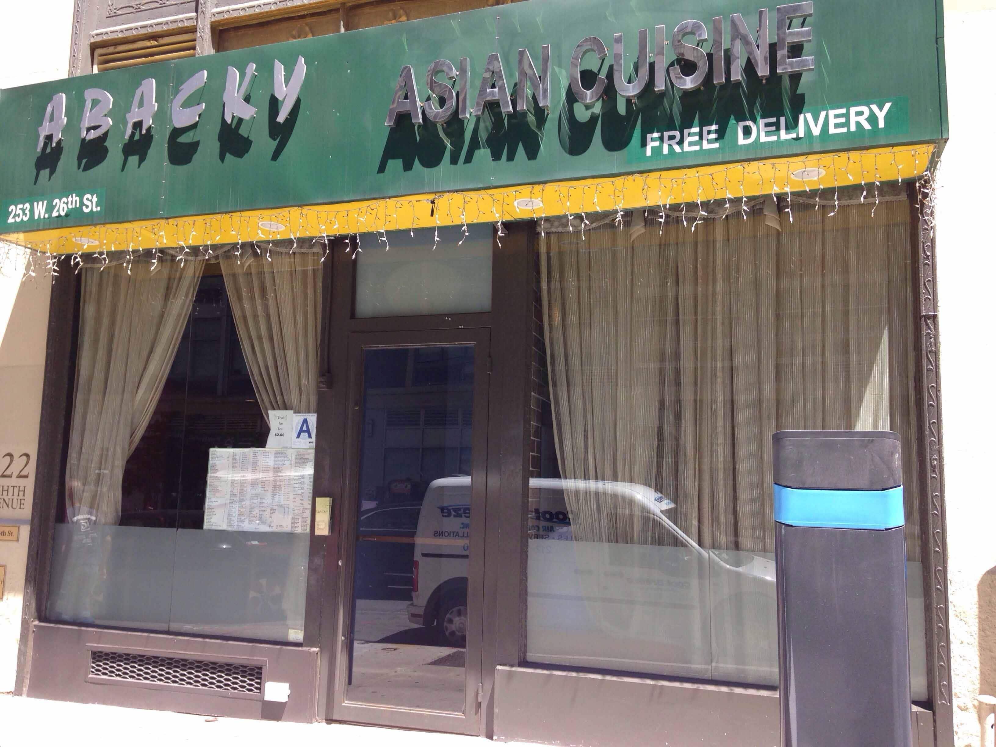 Abacky fusion cuisine hot