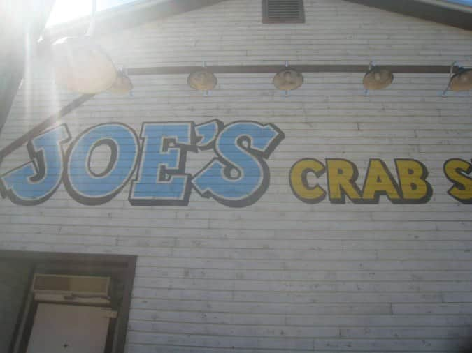 Joe Crab shack the big hook up