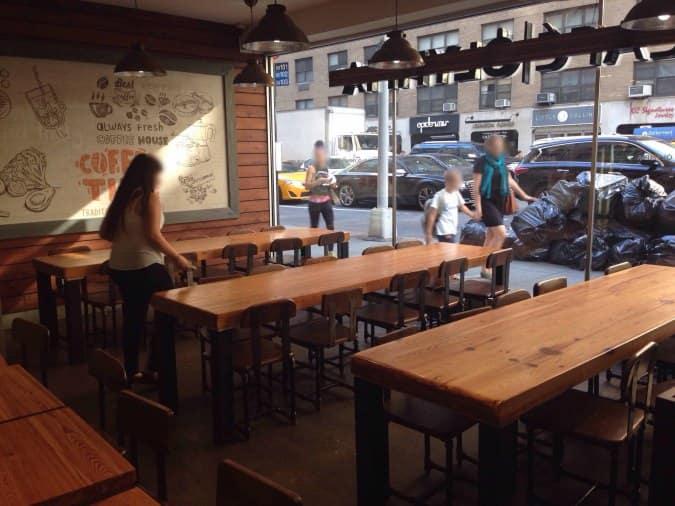 Cafe Olympia  Lexington Avenue New York Ny