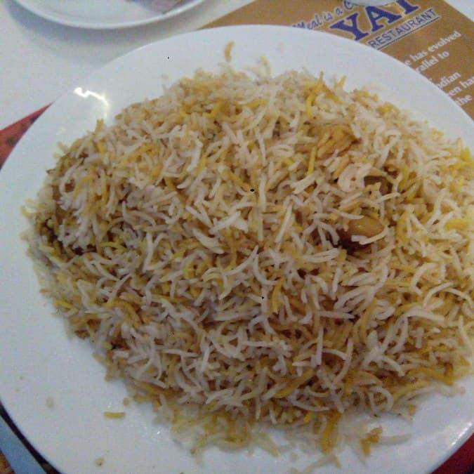 Hayat Restaurant Barrackpore Menu