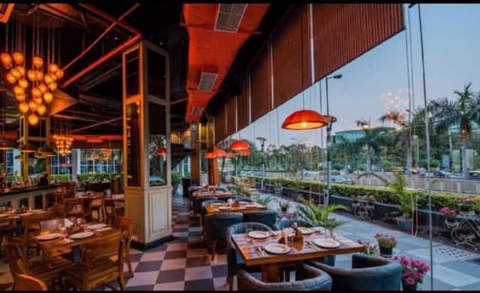 Norenj Wine Dine & Fresh Beer Cafe, South City 2, Gurgaon