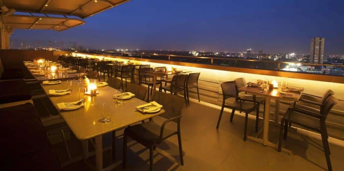 Ebony 13th floor restaurant bangalore meze blog for 13th floor mg road