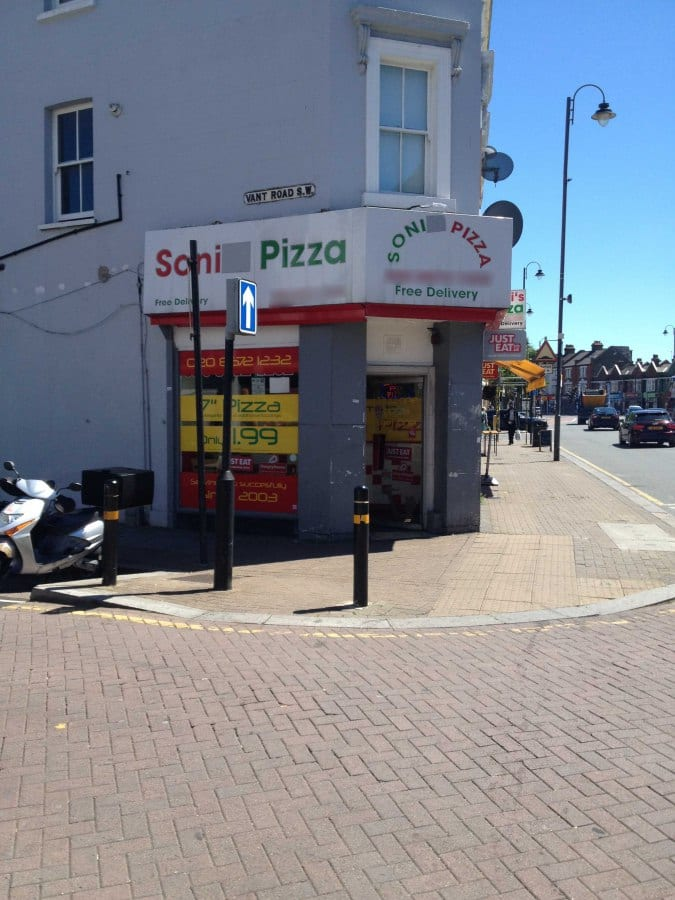 Soni Pizza Menu Menu For Soni Pizza Tooting London