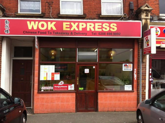 Wok Express Menu Menu For Wok Express Catford London