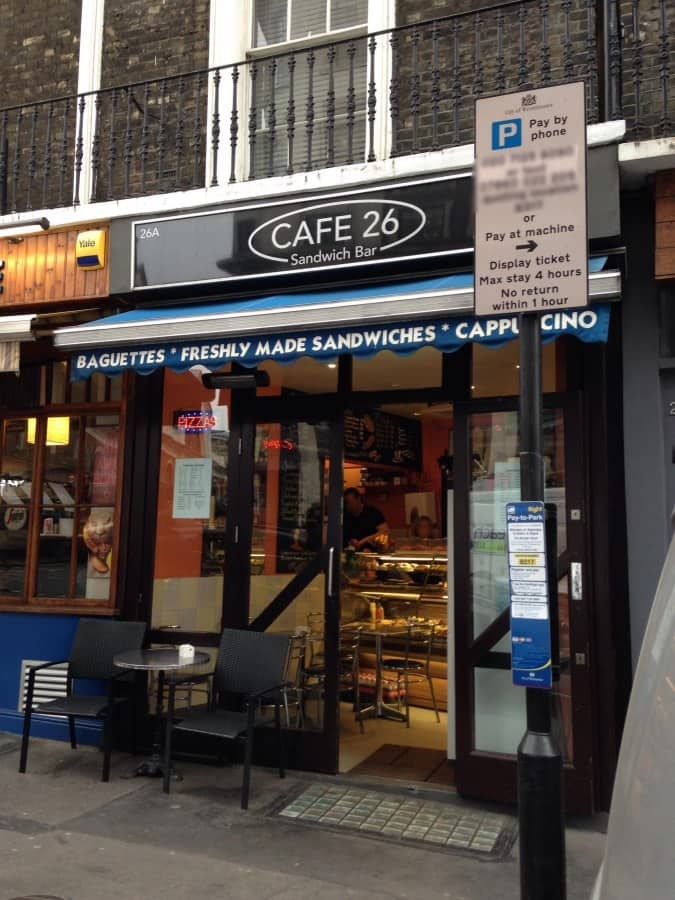 Cafe Notting Hill Opening Hours