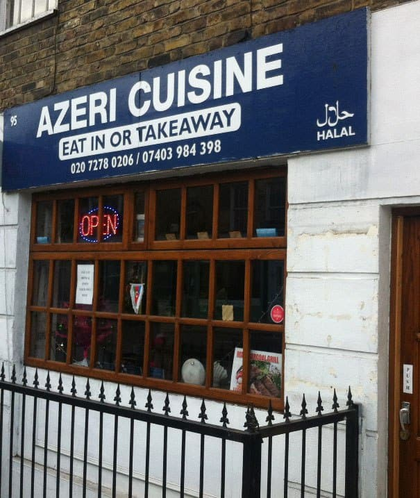 Azeri cuisine menu menu for azeri cuisine king 39 s cross for Azerbaijani cuisine london