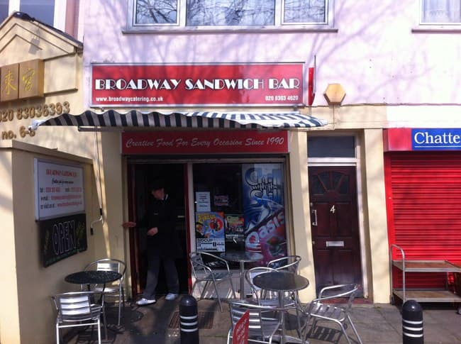 Broudway Cafe Sandwich Bar London