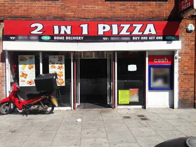 2 In 1 Pizza Greenford London Zomato Uk