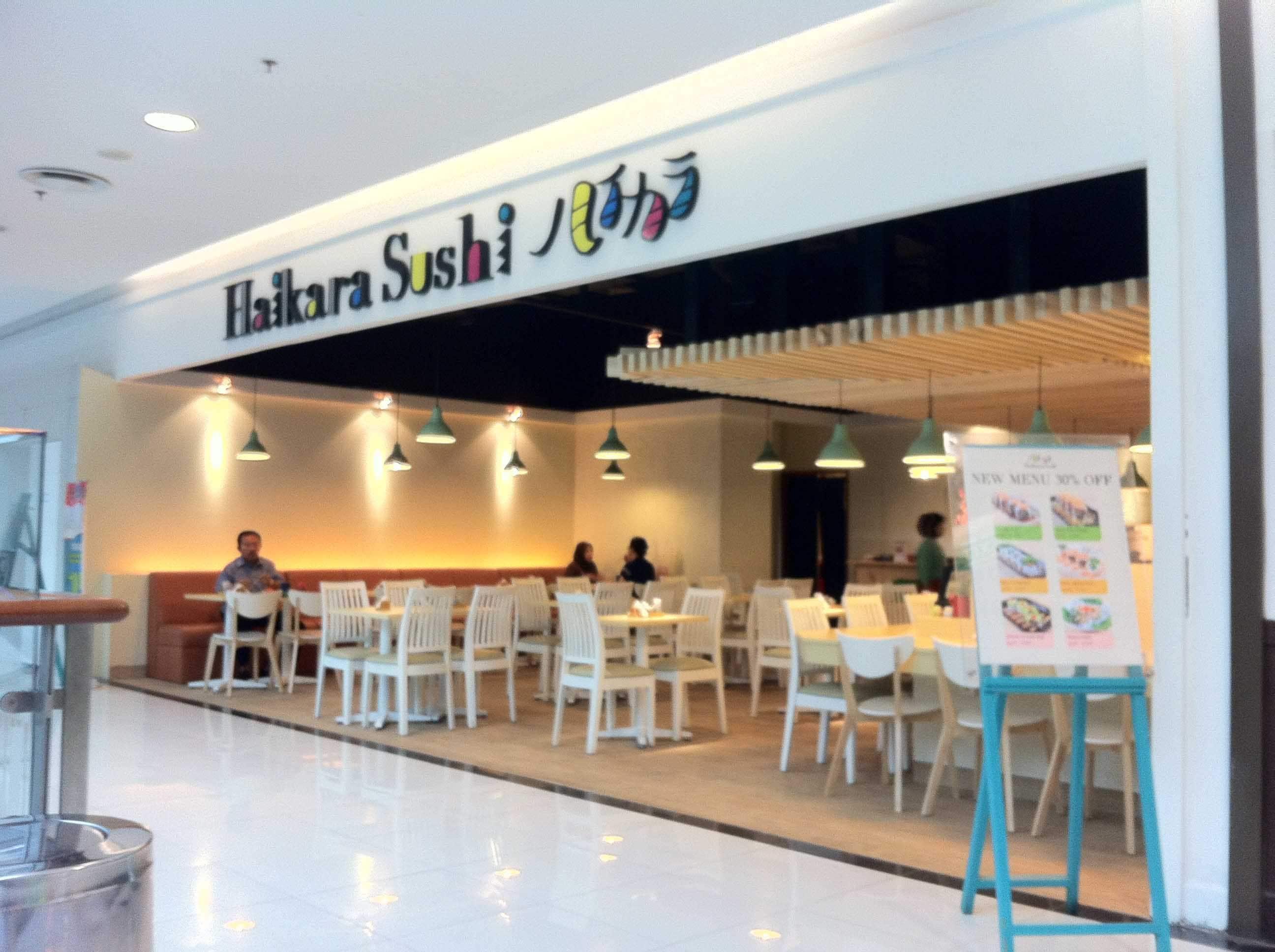 Recommendation Haikara Sushi Lotte Mall Bintaro Nadia Rachmawati