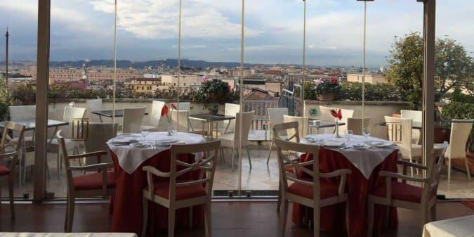 Roof Garden Hotel Mediterraneo Roma