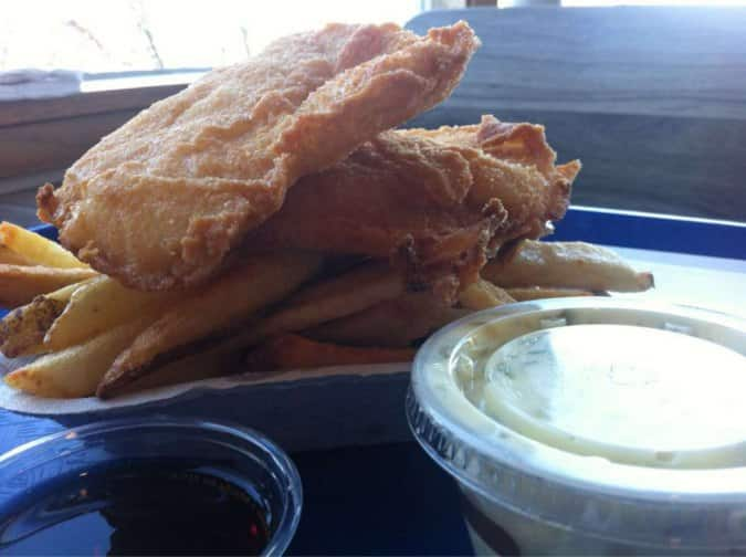 Alki spud fish chips menu urbanspoon zomato for Spuds fish and chips