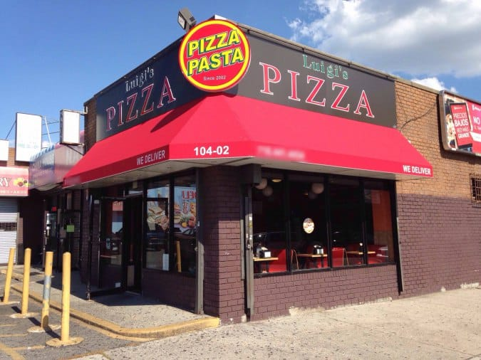 Luigi S Pizzeria Ozone Park New York City Urbanspoon